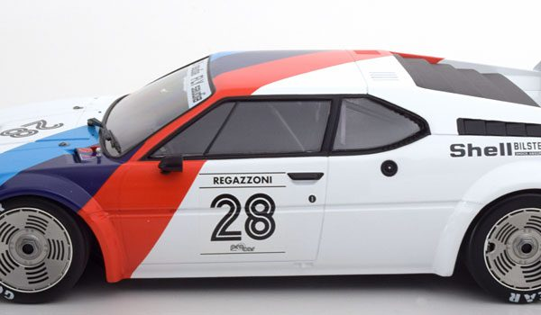 "BMW M1 Procar No.28, Procar Series 1979 ""BMW Motorsport "" Regazzoni 1-12 Minichamps"
