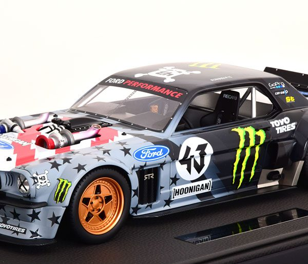 "Ford Mustang Hoonigan V2 No.43 1965 ""Stars and Stripes""1-12 Top Marques Limited 250 Pieces"