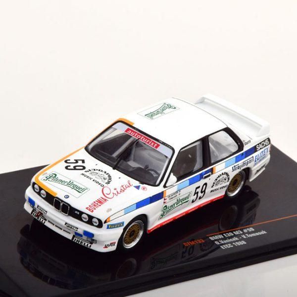 BMW M3 E30 No.59, ETCC 1988 Vanicek/Tomasek 1-43 Ixo Models