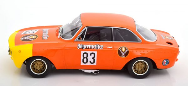 "Alfa Romeo GTA 1300 Junior No.83, DRM 1972 ""Jagermeister "" Maschke 1-18 Minichamps Limited 600 Pieces"