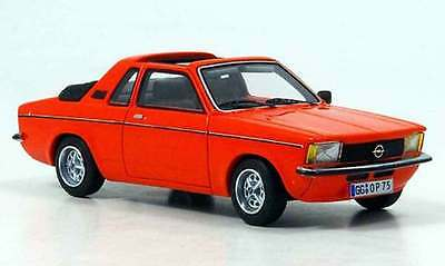 Opel Kadett C Aero 1978 1-43 Oranje Neo Scale Models