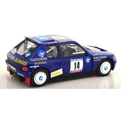 Peugeot 205 T16 #14 Rallye Tour de Corse 1985 Darniche, Mahe 1:18 Triple 9 Collection