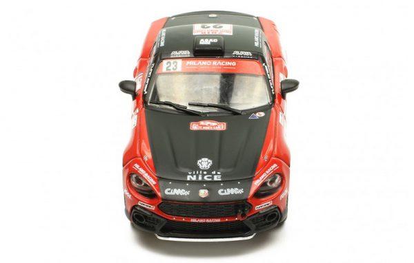 Fiat Abarth 124 RGT #23 Rally Monte Carlo 2018 N. Ciamin-T. De La Haye 1-43 Ixo Models