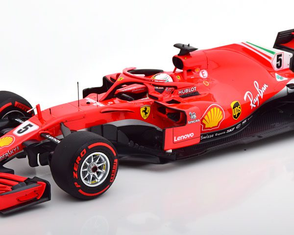 Ferrari SF71-H S.Vettel Winner GP Canada 2018 BBR Models 1-18
