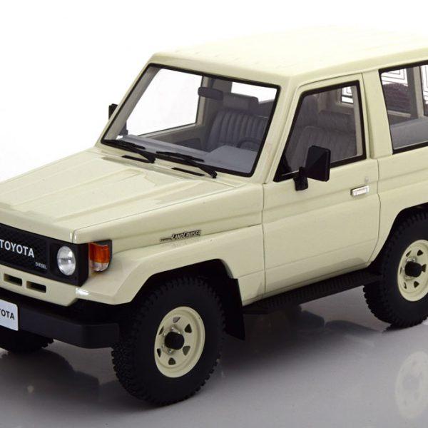 Toyota Landcruiser BJ70 1984 Wit 1-18 Cult Scale Models