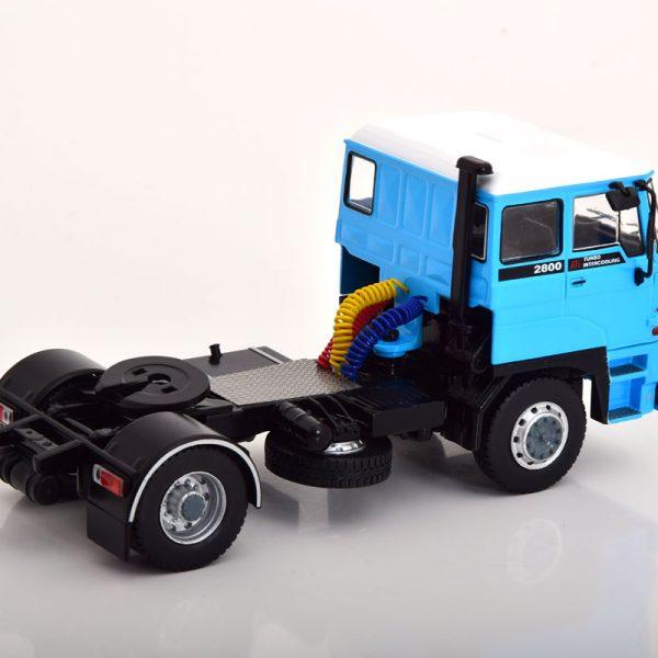 Daf 2800 1975 Blauw / Wit 1-43 Ixo Models