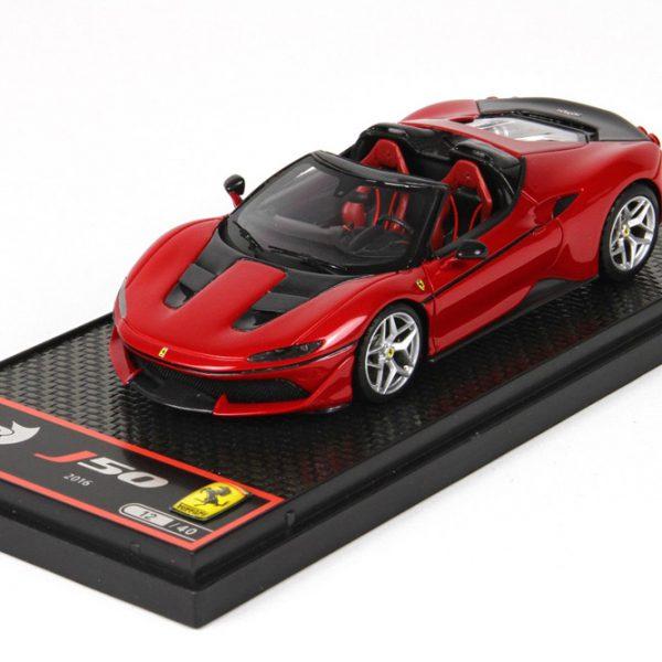 Ferrari J50 2018 Rosso Tristorato / Red - Black 1-43 BBR Models Limited 40 Pieces