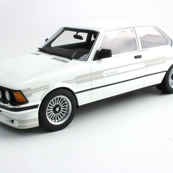 BMW 323 Alpina 1983 Wit ( Grey Stripes ) 1-18 LS Collectibles Limited 250 Pieces