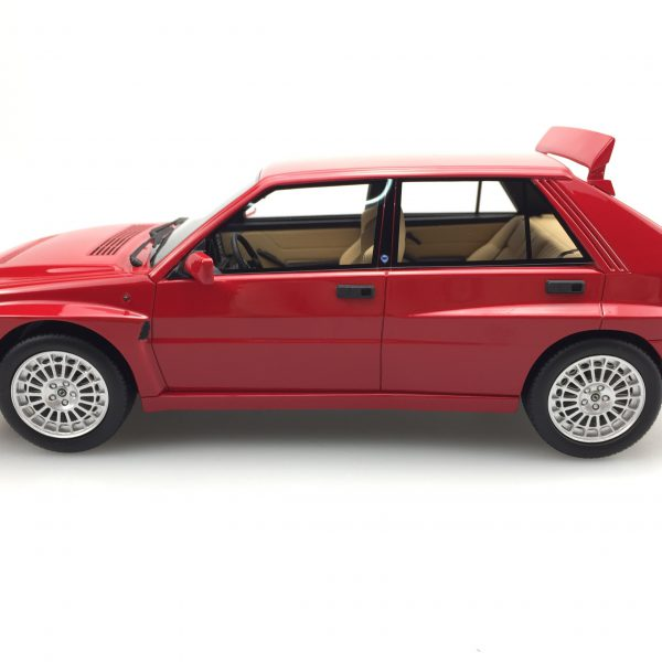 Lancia Delta Integrale Evolution II Rood 1-18 LS Collectibles Limited 500 Pieces