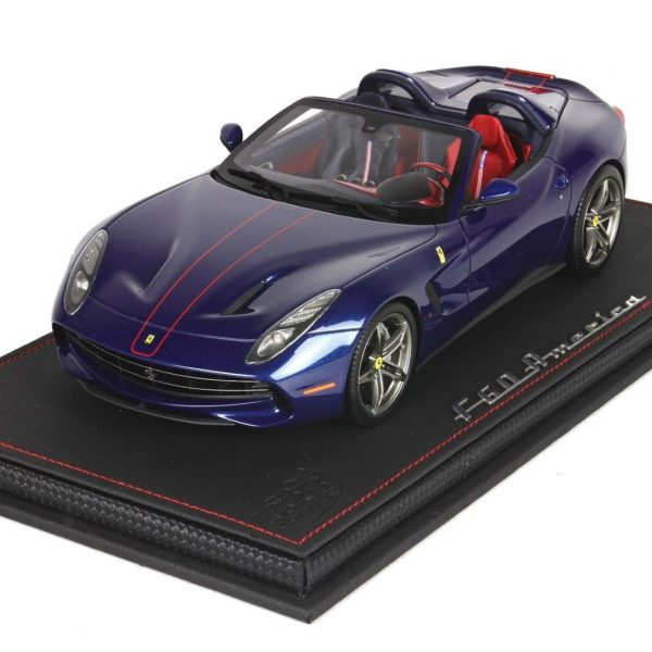 "Ferrari F60 America 2014 ""Tour de France ""Blue 1-18 BBR Models Limited 60 Pieces"