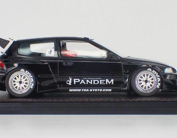 Honda Civic (EG6) Pandem Zwart 1-18 Ignition Models Limited