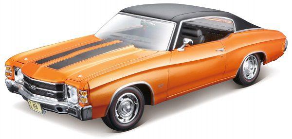 Chevrolet Chevelle SS 454 Sport Coupe 1971 1-18 Metallic Oranje Maisto