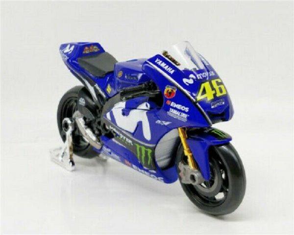 Yamaha YZR-M1 #46 Moto GP 2018 Valentino Rossi 1-18 Maisto