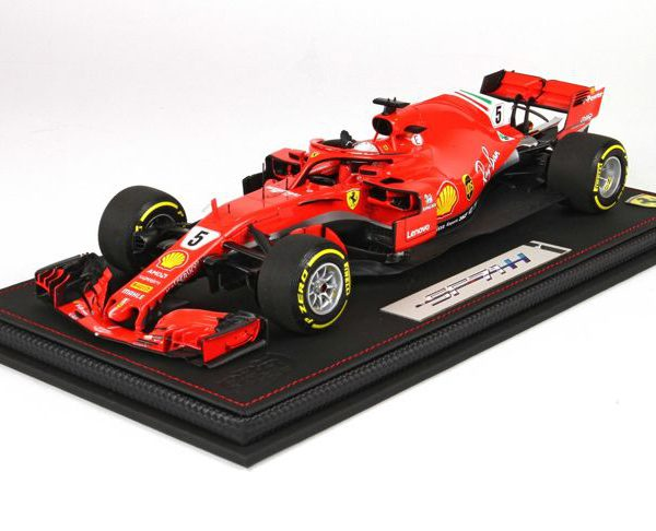 Ferrari SF71-H F1 #5 Sebastian Vettel Winner GP Australia 2018 Finish Version 1-18 BBR Models Limited 100 Pieces
