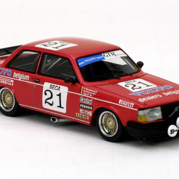 "Volvo 240 Turbo #21 Team Delcourt M.Delcourt/P.Dieudonné/""Davit"" ETCC 1984 1-43 Neo Scale Models"