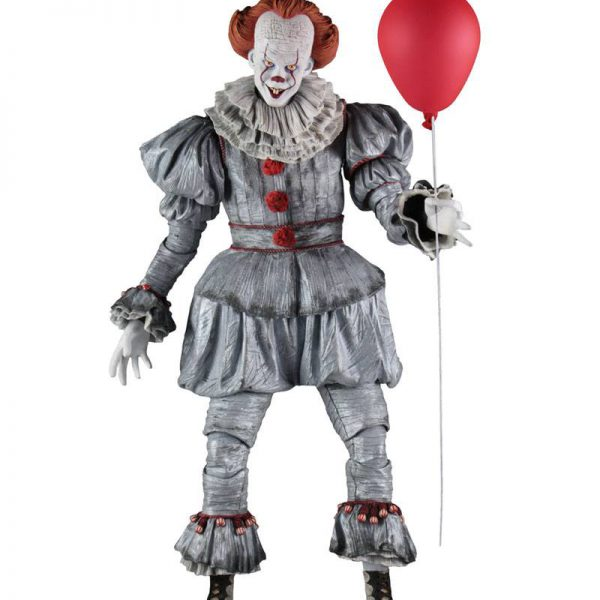"Pennywise uit de film ""IT"" 1-4 Neca"
