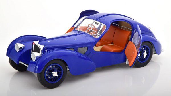 Bugatti 57 SC Atlantic 1938 Blauw 1-18 Solido