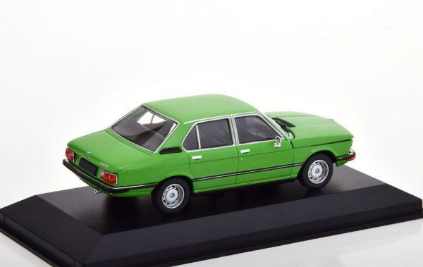 BMW 520 ( E12) 1972 Groen 1-43 Minichamps Limited 500 Pieces