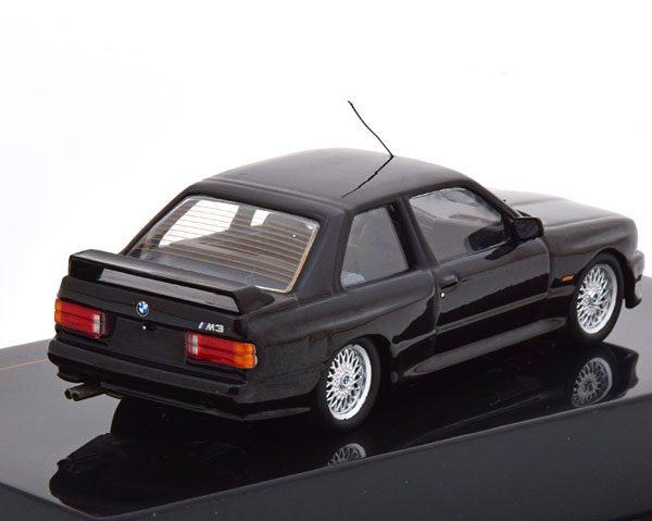 BMW M3 E30 Sport Evolution 1990 Zwart 1-43 Ixo Models