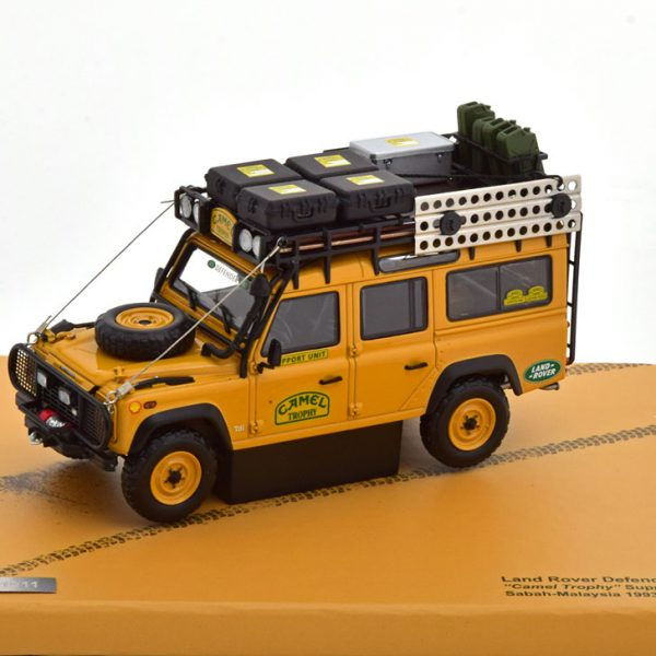Land Rover Defender 110 Camel Trophy Sabah-Malaysia 1993 Bruin 1-43 Almost Real