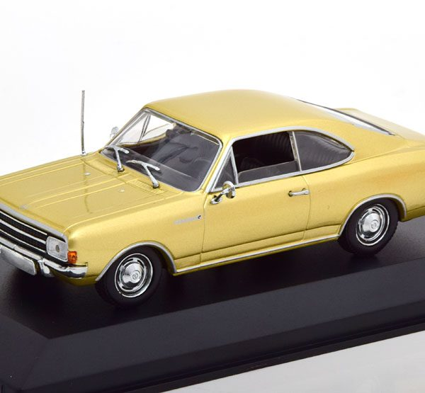 Opel Rekord C Coupe 1966 Goud 1-43 Maxichamps