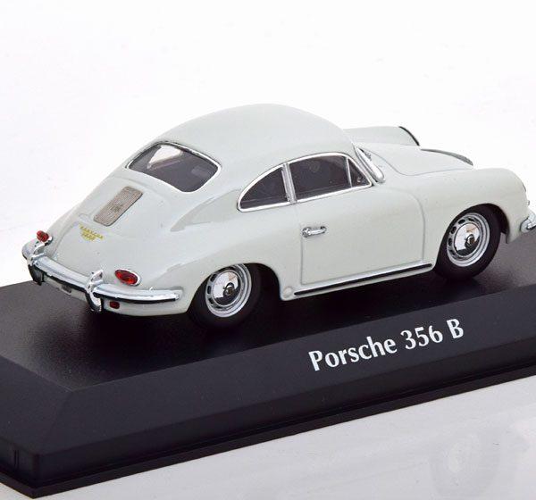 Porsche 356 B Coupe 1961 Grijs 1-43 Maxichamps