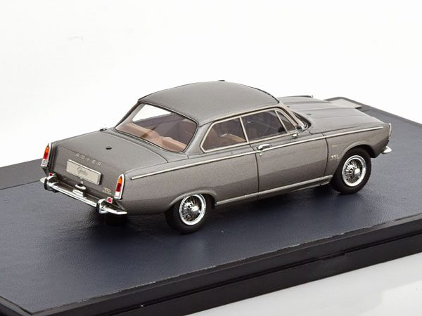 Rover P6 Coupe by Graber 1968 Grijs Metallic 1-43 Matrix Limited 299 Pieces