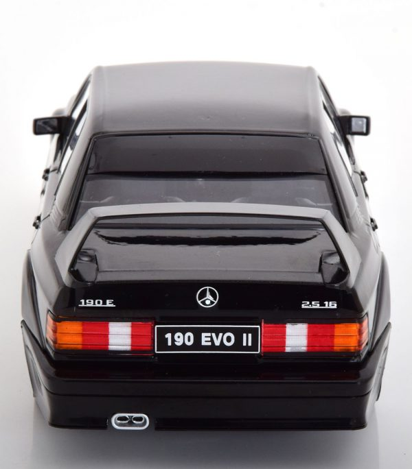 Mercedes-Benz 190E 2.5-16 Evolution 2 1990 Zwart 1-18 Solido