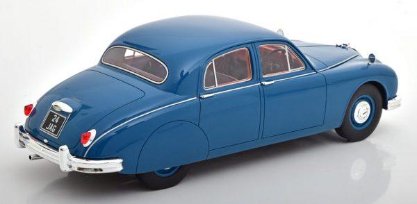 Jaguar 2.4 Litre MK1 1955 Blauw 1-18 Cult Scale Models