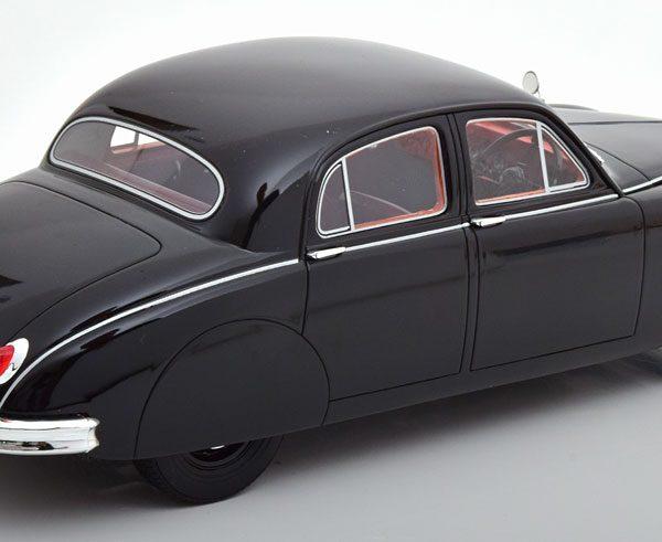 Jaguar 2.4 Litre MK1 1955 Zwart 1-18 Cult Scale Models