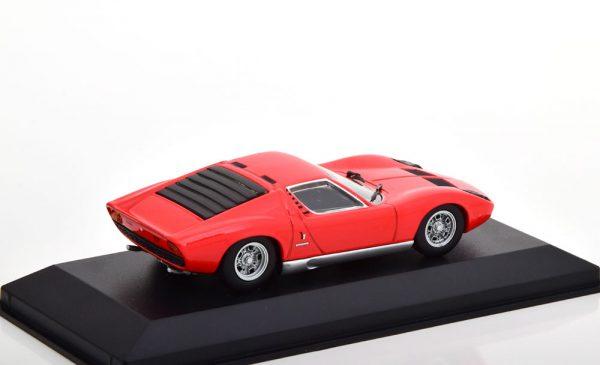 Lamborghini Miura 1966 Rood 1-43 Minichamps Limited 500 Pieces