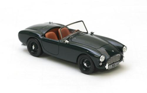 AC Ace Bristol Cabriolet 1953-1964 Groen 1-43 Neo Scale Models