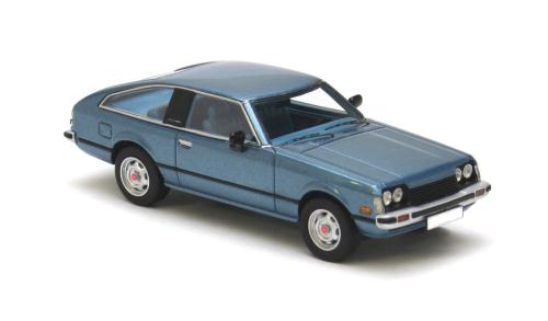 Toyota Celica MK2 type A40 1979 1-43 Blauw Neo Scale Models