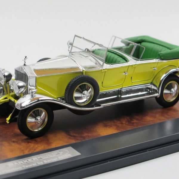Rolls-Royce Phantom Tourer by Barker #820R 1929 1-43 Geel/Aluminium Matrix Scale Models Limited 408 pcs.
