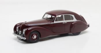 Bentley MKV Corniche George Paulin Pourtout #14BV 1939 Maroon 1-43 Matrix Scale Models Limited 408 pcs.