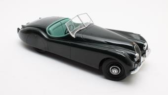 Jaguar XK120 OTS Groen 1953 1-12 12 Art Fine Models Limited