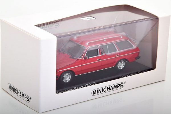 Mercedes-Benz 230TE ( W123) 1982 Rood 1-43 Minichamps Limited 500 Pieces