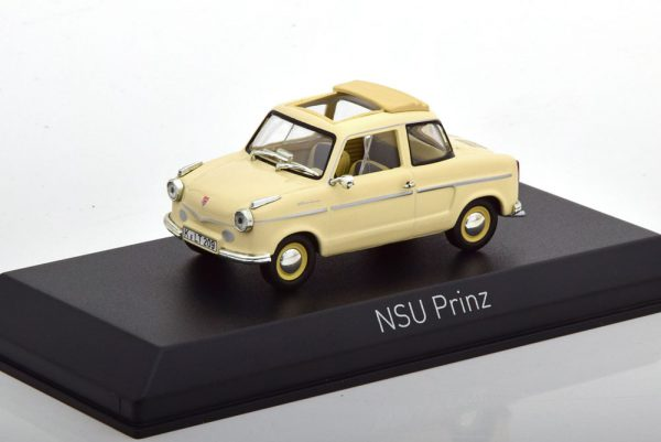 NSU Prinz 2 1959 Beige 1-43 Norev