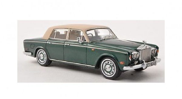 Rolls-Royce Silver Shadow 1974 Groen 1-43 Neo Scale Models