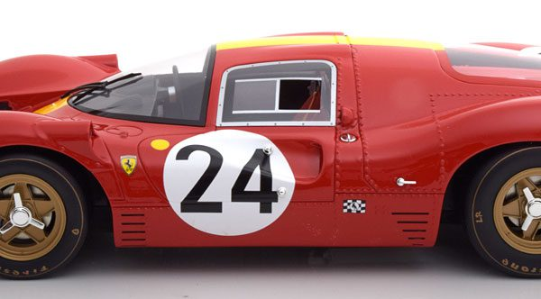 Ferrari 330 P4 No.24, 24h Le Mans 1967 Mairesse/Blaton 1-12 CMR Models