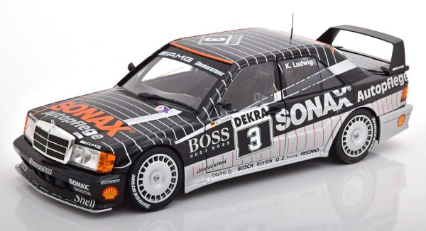 Mercedes-Benz 190E 2.5-16 Evo 2 No.3, DTM Champion 1992 Ludwig 1-18 Solido