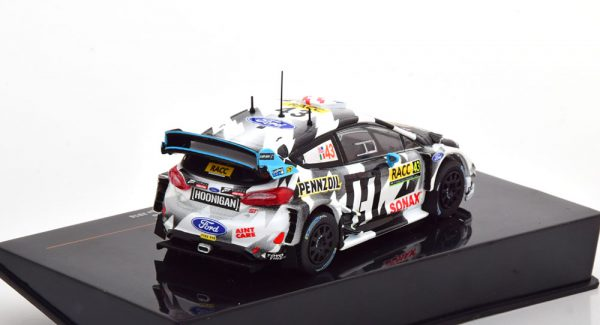 Ford Fiesta WRC No.43, Rally Catalunya 2018 K.Block/Gelsomino 1-43 Ixo Models