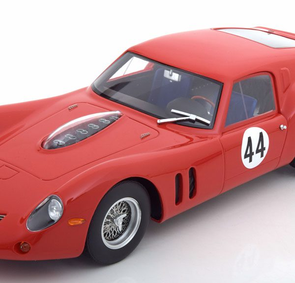Ferrari 250 GT Drogo No.44, 500km Spa 1963 van Ophem/Bianchi Rood 1-18 CMR Models