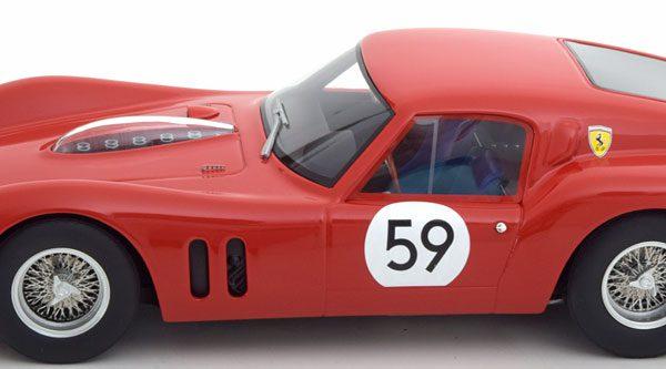 Ferrari 250 GT Drogo No.59, 1000km Nürburgring 1963 Van Ophem/Dernier 1-18 CMR Models