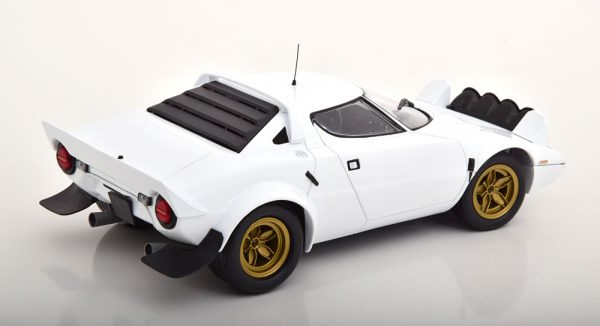 "Lancia Stratos ""Plain Body Version"" 1974 Wit 1-18 Minichamps Limited 300 Pieces"