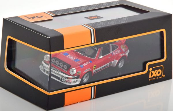Porsche 911 SC Gr.4 Rallye Monte Carlo 1980 ( Service Car ) Rood 1-43 Ixo Models