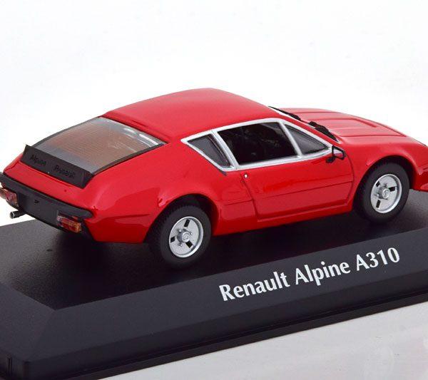Renault Alpine A310 1976 Rood 1-43 Maxichamps
