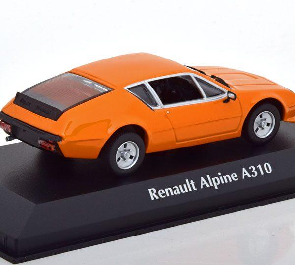 Renault Alpine A310 1976 Oranje 1-43 Maxichamps