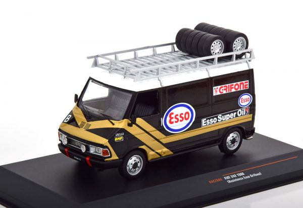 Fiat 242 Service Car Esso Grifone 1986 1-43 Ixo Models