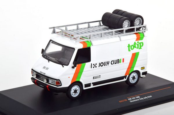Fiat 242 Service Car Totip Jolly Club 1985 1-43 Ixo Models